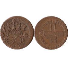1790 Italy - Sardinia 2 Denari Coin Off-Center Strike C#50