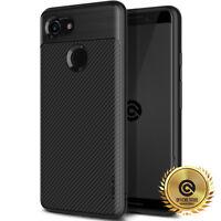 OBLIQ® Google Pixel 3 XL [Flex Pro] Black Shockproof Slim Protective Case Cover