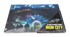 ALITA BATTLE ANGEL EXPERIENCE EXCLUSIVE IRON CITY POSTCARD SET OF 6
