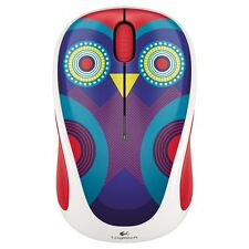 Logitech Wireless Mouse M317 910-004464 Olivia Owl M325 M325c M317c