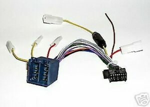 Harness Cable Radio Iso Panasonic Models Limit Switches Series 2005 A 2006