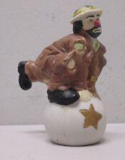 Emmett Kelly Jr Flambro Signature Collection Balancing on Circus Ball Figurine