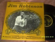 JIM ROBINSON LIVING NEW ORLEANS JAZZ 1976 USA LP