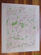 Clifton New York 1960 Original Vintage USGS Topo Map