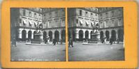 Parigi Statua Di Jeanne Arc Foto Pl36 Stereo Vintage Analogica c1900