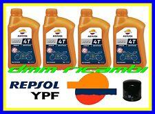Kit Tagliando Triumph STREET TRIPLE 675 10>11 Filtro Olio REPSOL 10W40 2010 2011