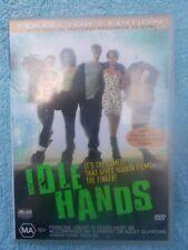 IDLE HANDS(COLLECTORS EDITION)DEVON SAWA,SETH GREEN,ELDON HENSON DVD MA R4