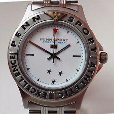 Gents Stainless Steel Penn Sport Quartz 50m Bracelet Watch Working