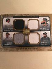 2008 Upper Deck R. Harden, H. Street, B. Crosby, E. Chavez Quad Jersey Card FM4