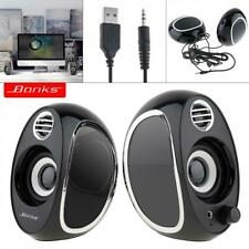 MIni USB Multimedia Stereo Speakers Subwoofer For PC Laptop Computer Desktop New