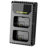 Nitecore USN1 2-Slot Sony Camera Battery Charger for Sony NP-FW50 Batteries