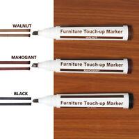 Touch Up FURNITURE & WOOD SCRATCH REPAIR MARKER PENS LIGHT DARK MEDIUM BROWN SET