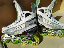 New ListingMission Ac-2 Inhaler Roller Hockey Skates, Sz 9.0(10.5+shoe)_V.Rare & Excellent!