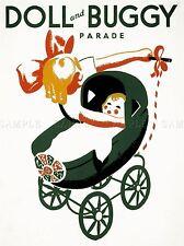 Poupée de publicité et Art Parade Buggy Poster Print lv660
