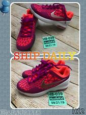 Nike Women Zoom Cage 2 3D Tennis Shoes Sneaker 705260 Size 5 Pink/Purple��H8-039