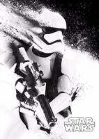 Star Wars Storm Trooper MOVIE Film Cinema Print Poster Wall Art Picture A4 +