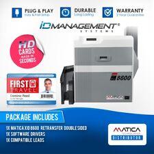 Matica XID 8600 double face Imprimante De Carte * Livraison Gratuite Au Royaume-Uni * Navires dans le monde entier
