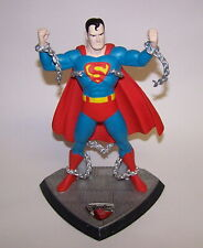 Hallmark 1940 Golden Age Superman Statue Limited Edition DC Comics 1996 NIB