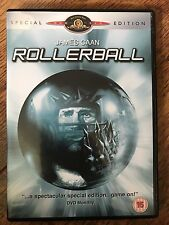 James Caan ROLLERBALL ~ 1975 Futuristic Sports Sci-Fi ~ Special Edition UK DVD