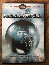 JAMES CAAN Rollerball ~ 1975 futurista Deportes Sci-Fi ~ Edición Especial GB DVD