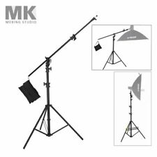 5M 16Ft Boom Arm Stand & Light Stand Double Function Rotable Fr Studio Softbox