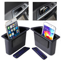 2 pcs Rear Door Container Armrest storage box Fit For VOLVO XC60 2008-2015
