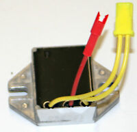 Voltage regulator replaces Briggs & Stratton Nos. 394890, 691185 & 797375.