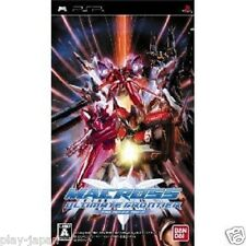 New PSP Macross Ultimate Frontier japan import game