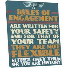 Marco Cuadro Pintura reglas decompromiso Piloto Top Gun Rules of Engagement