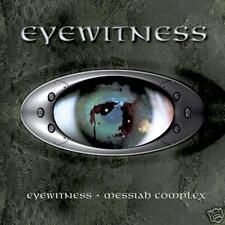Eyewitness / Messiah Complex Double CD Rock Digipak Ralph Santolla / Todd Plant