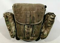 British Army MTP Field Pack Haversack Respirator Bag Gas Mask Molle Grade 2
