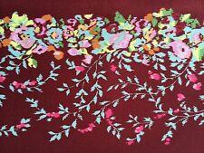 By 1/2 Yard Free Spirit Amy Butler Cotton Fabric Alchemy Victoriana Port Flowers