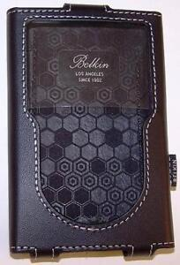 BELKIN Leather Case for iPod Classic 5G 6G 7G 30GB 60GB 80GB 120GB 160GB F8Z205