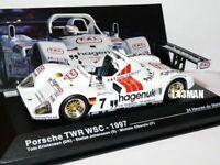 24H66M 1/43 IXO Altaya 24 heures du Mans 24H  PORSCHE TWR WSC #7 1997 1st winner