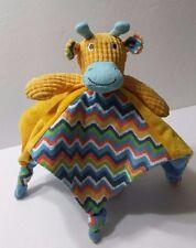 Maison Chic Giraffe Lovey Security Blanket Stuffed Animal Child Toy