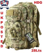Kombat UK 28l MULTICAMO BTP Assault MOLLE Pack Rucksack British Army MTP TA
