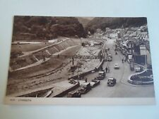 Nostalgic Postcard LYNMOUTH With Vintage Cars in View  - Unposted     §A1314