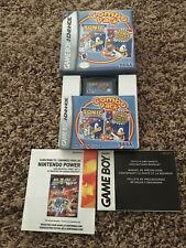 Nintendo GameBoy Advance Game- Sonic Combo Pack