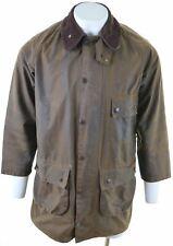BARBOUR Mens Wax Jacket Size 40 Medium Brown Cotton  HJ04