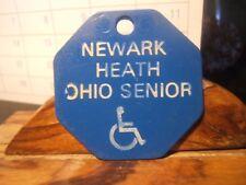 Newark Health Ohio Senior Transit Token # 0014240