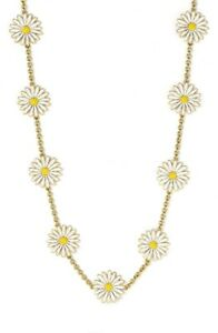 Kate Spade Daisy Chain Necklace NWT Very Rare Limited Edition Classic Long