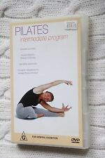 Pilates- Intermediate Program (DVD)R-2,4,  Like new, free shipping in Australia