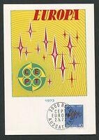 SCHWEIZ MK 1972 EUROPA CEPT MAXIMUMKARTE CARTE MAXIMUM CARD MC CM d3464