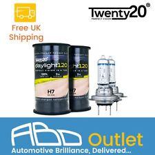 H7 Twenty20 Daylight 120 12V 55W 477 Halogen Headlight Car Bulbs Pair