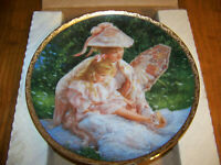 Mother's Sunshine Collector Plate by Sandra Kuck Reco Collection 1989 Porcelain