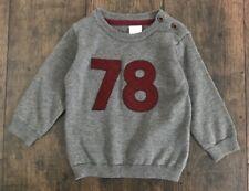 NWT H&M 78 Gray Knit Sweater 4-6M Baby Boy
