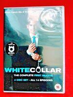 WHITE COLLAR - SEASON 1 - DVD - ( 4 DISC ) - MATTHEW BOMER - 2010