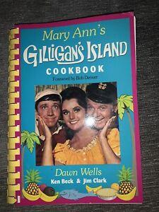 Autographed Mary Ann's Gilligan's Island Cookbook Dawn Wells 1993 Edition