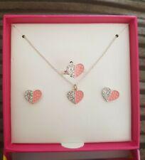 Smiggle Heart Jewellery Set