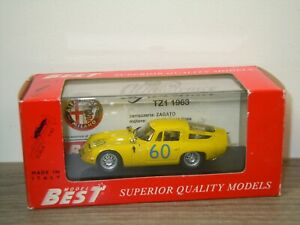 Alfa Romeo TZ1 Targa Florio '65 - Model Best 9061 Italy 1:43 in Box *49529